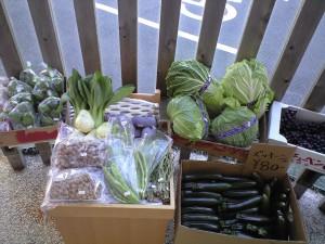 店頭野菜販売